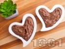 Рецепта Бърз и лесен летен шоколадов крем със сметана за десерт